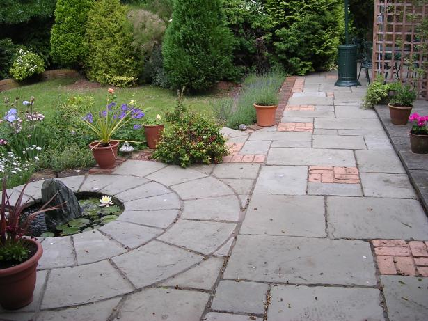 Brick And Flagstone