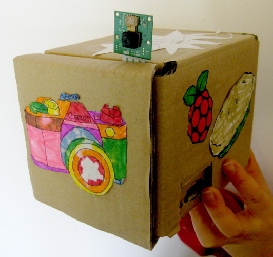 Decorated Box for Raspberry Pi