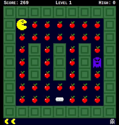 A pacman-like game