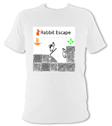 Rabbit Escape t-shirt